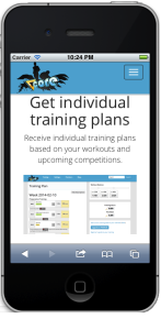TriCoreTraining mobile